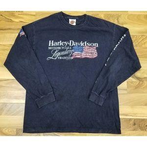 Vintage Harley Davidson Woodstock Long Sleeve. WOW